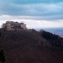 Festung Hohenneuffen im Winter