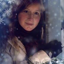 Winterliches Porträt