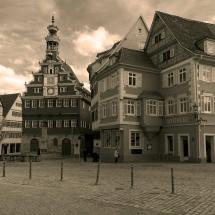 Stadtansicht mit Esslingerrathaus