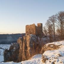 Reußenstein im Winter