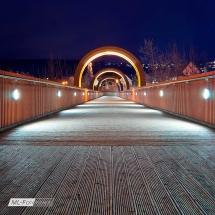 Fußgängerbrücke in PlochingenFußgängerbrücke in Plochingen