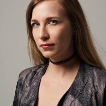 Model Nadja Porträt im Studio